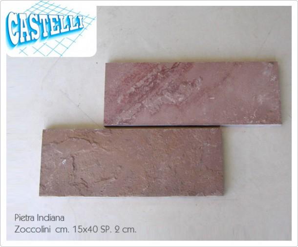 Pietra indiana zoccolini rivestimenti castelli ceramiche for Zoccolini in pietra